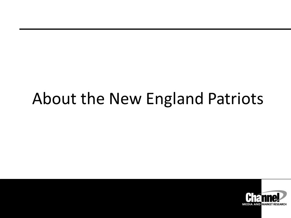 About the New England Patriots