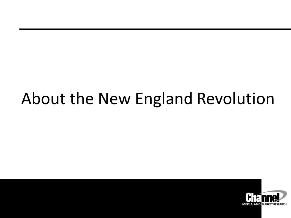 About the New England Revolution