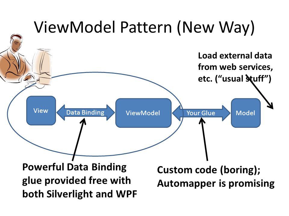 ViewModel Pattern (New Way)