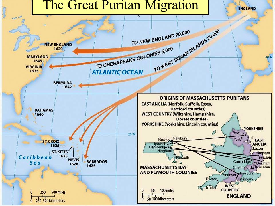 The Great Puritan Migration