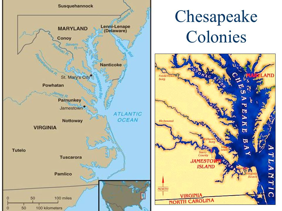 Chesapeake Colonies