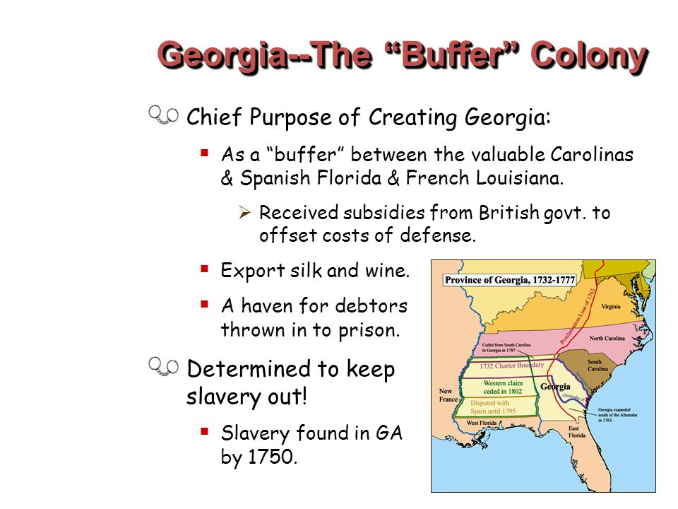 Georgia--The Buffer Colony