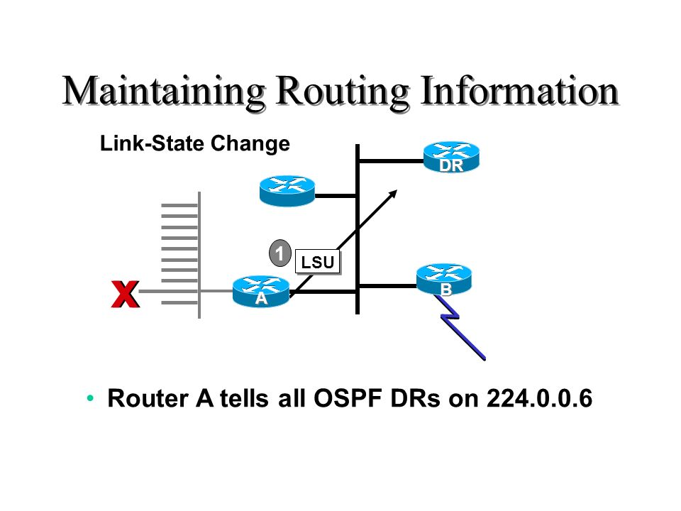 Maintaining Routing Information