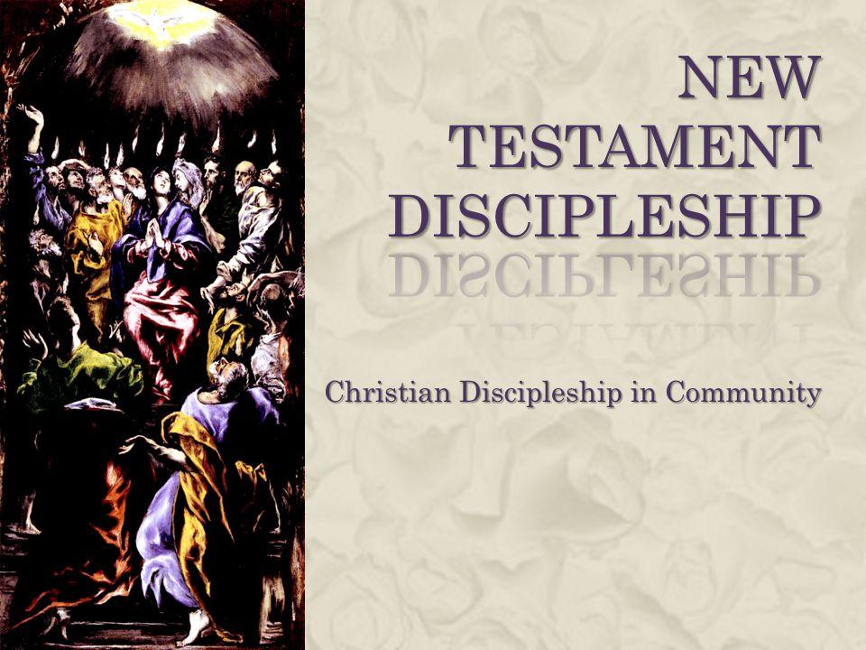 New Testament Discipleship