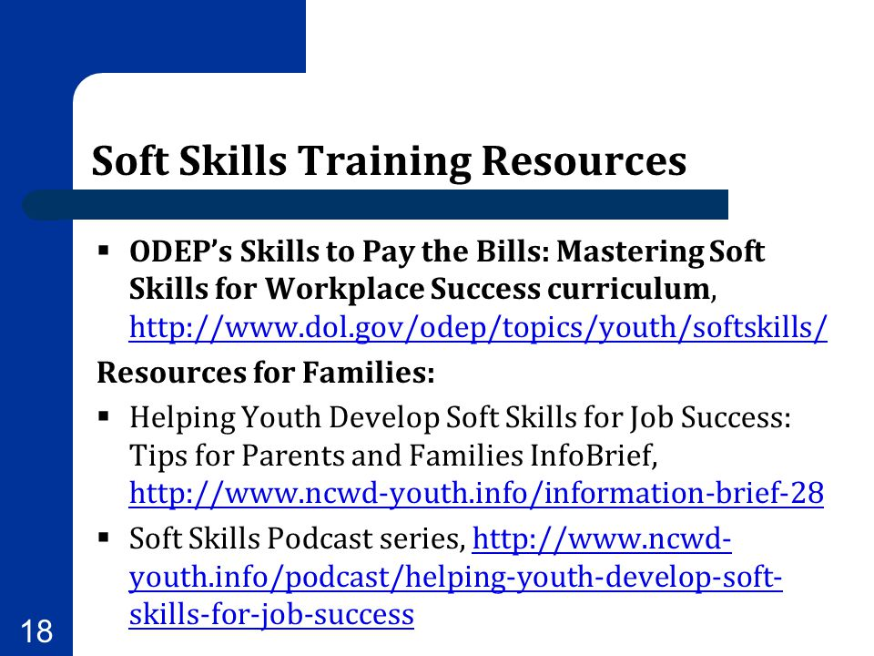 Soft Skills Training Resources
