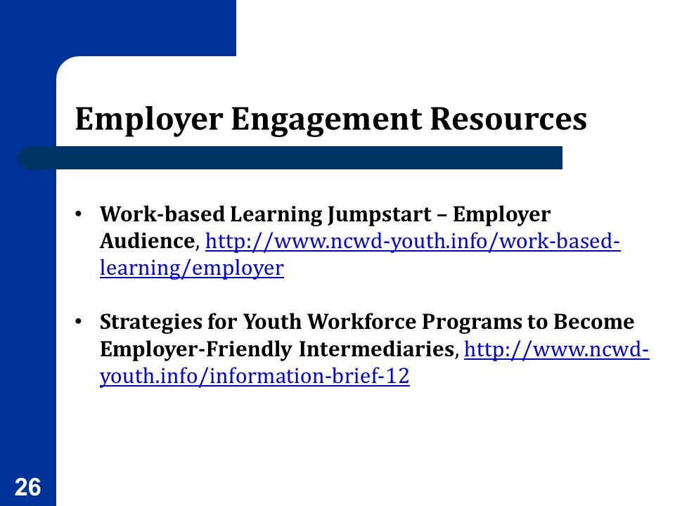 Employer Engagement Resources