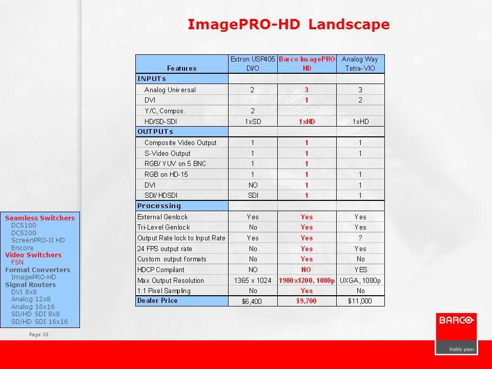 ImagePRO-HD Landscape