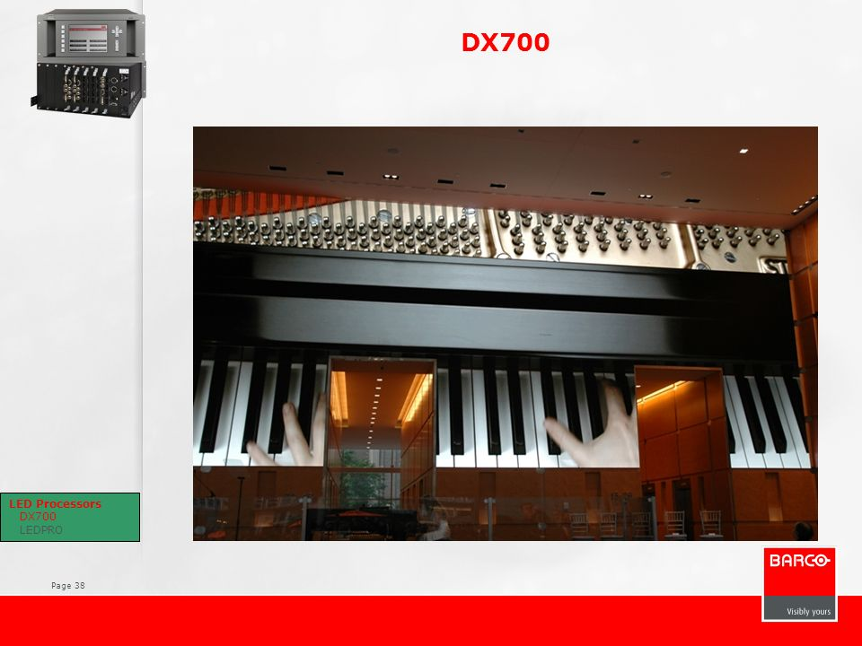 DX700 Key features Reliable, Roadworthy with the best Image quality