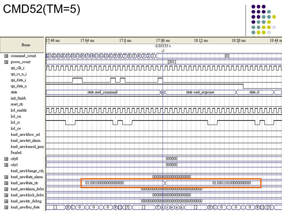 CMD52(TM=5)