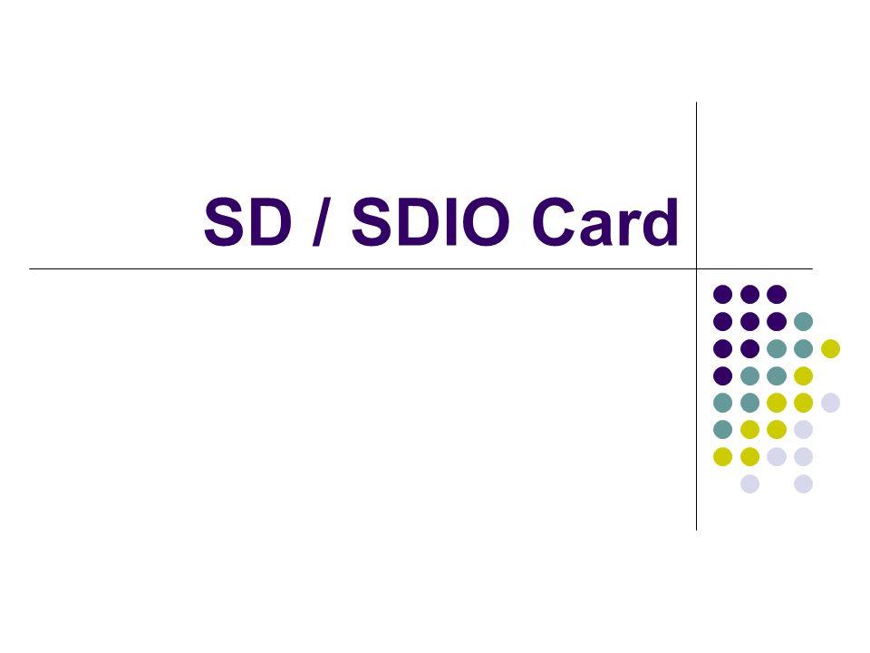 SD / SDIO Card