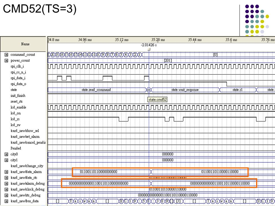 CMD52(TS=3)