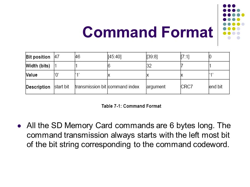 Command Format