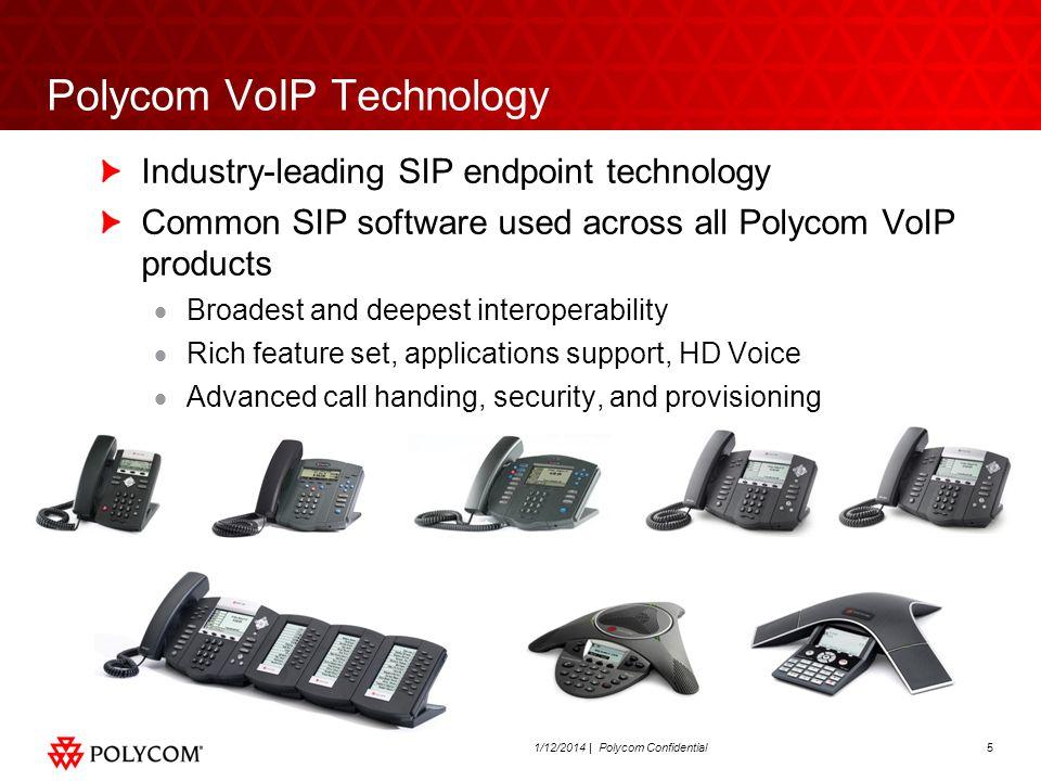 Polycom VoIP Technology