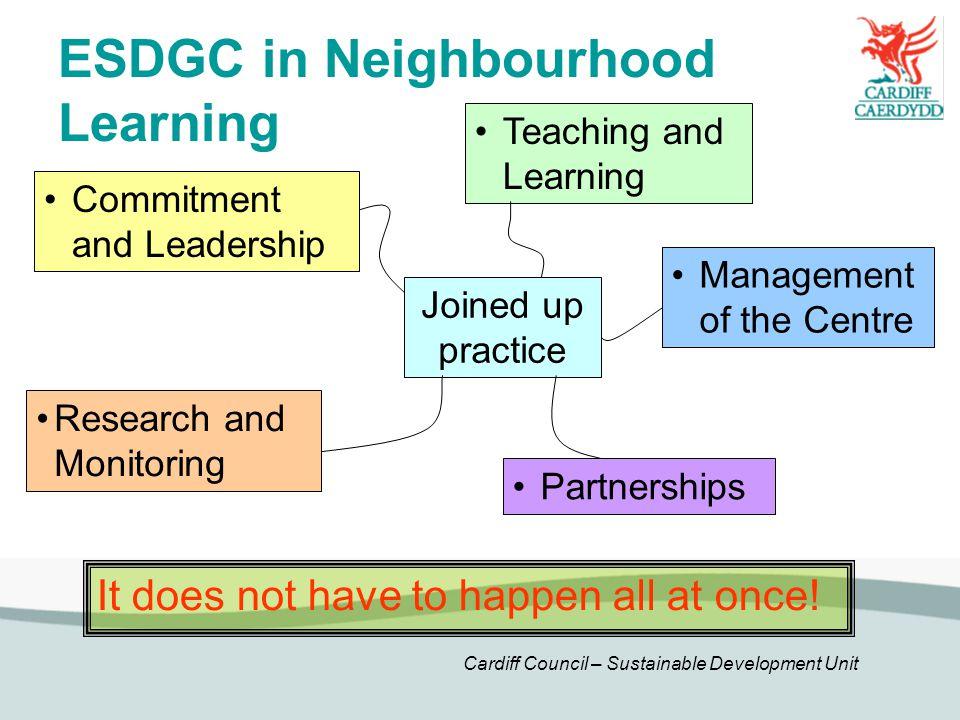 ESDGC in Neighbourhood Learning