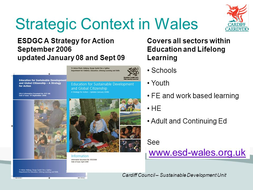 Strategic Context in Wales