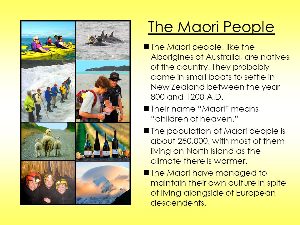 The Maori People