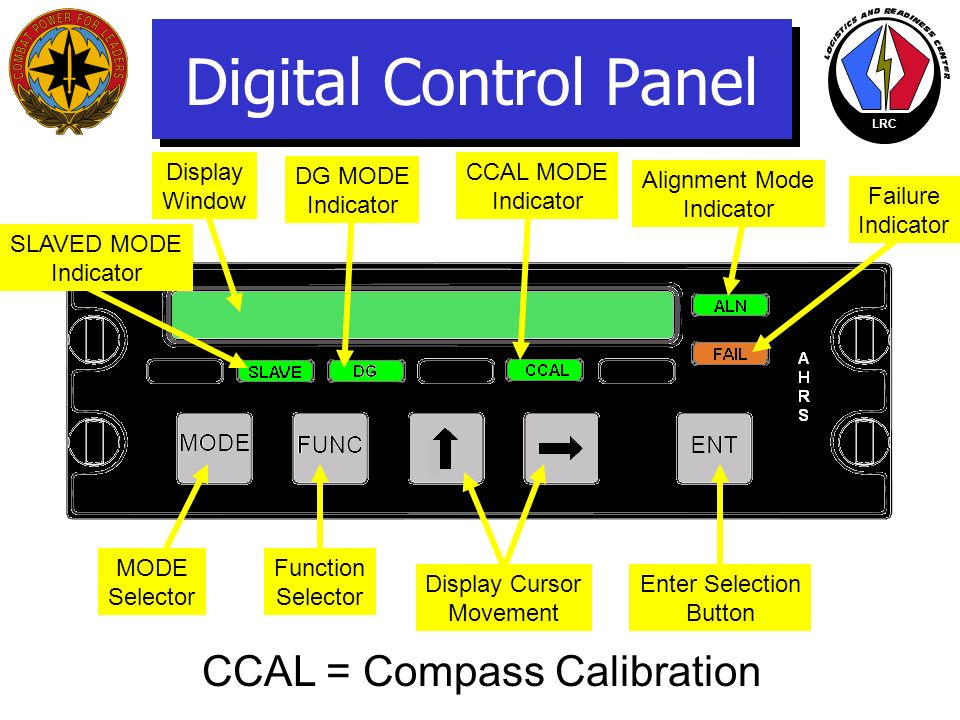 CCAL = Compass Calibration