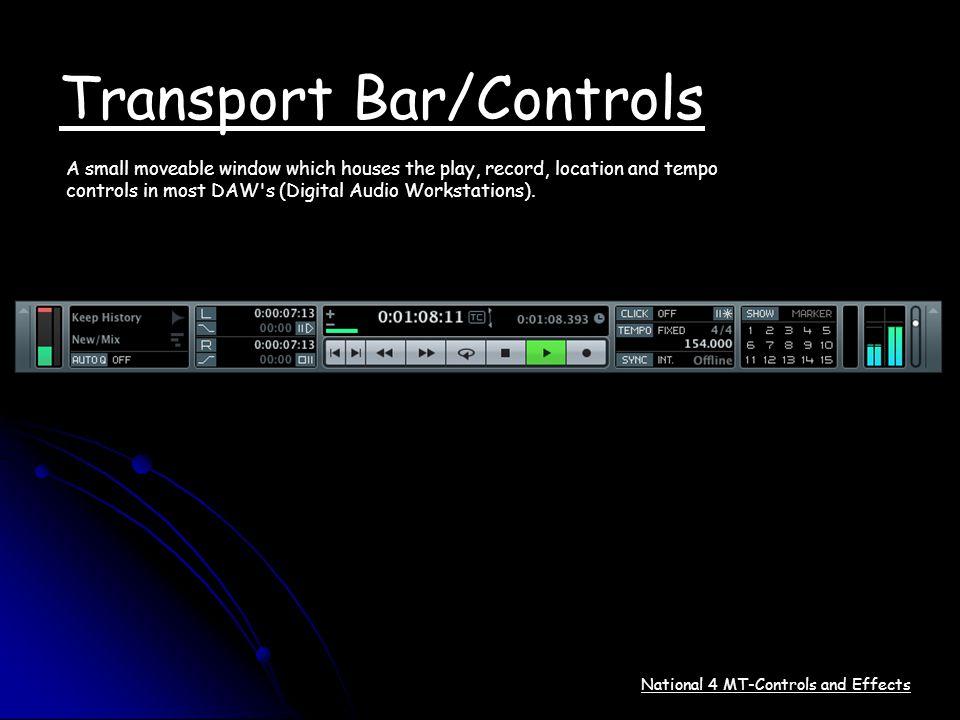 Transport Bar/Controls