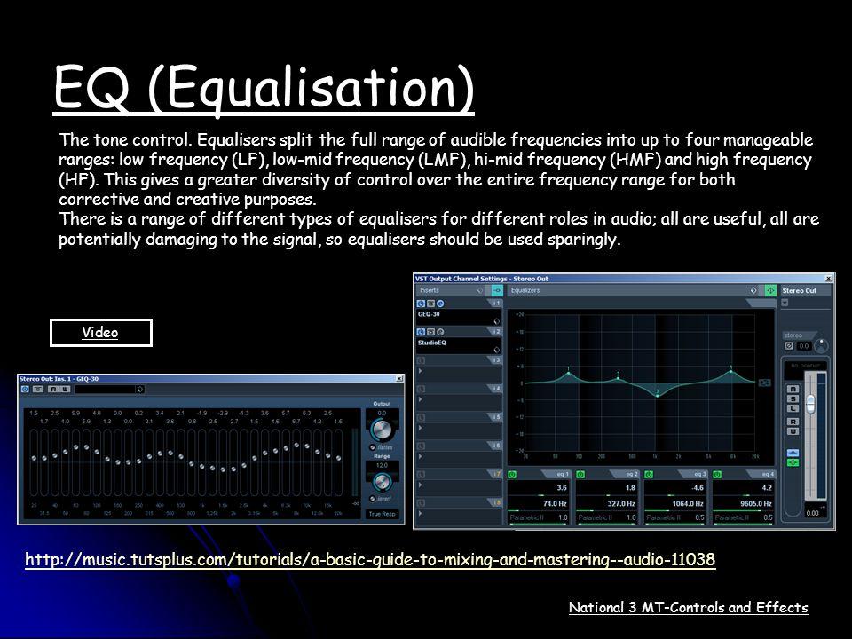EQ (Equalisation)