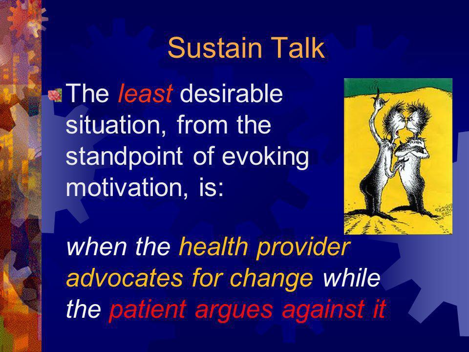 Sustain Talk