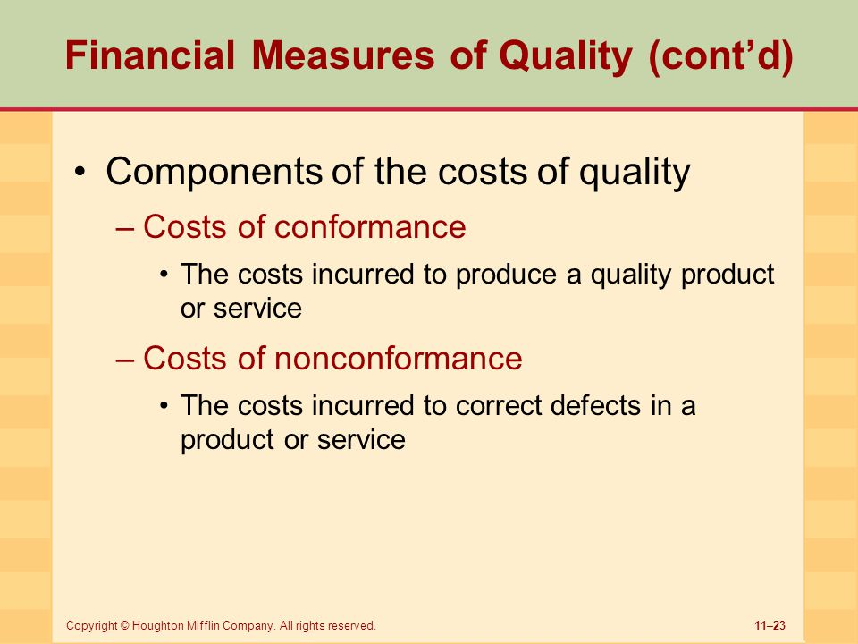 A Measure of Service Quality for Retail Stores