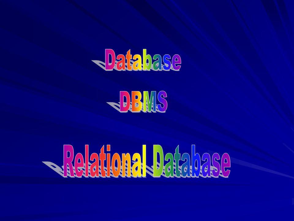 Database DBMS Relational Database