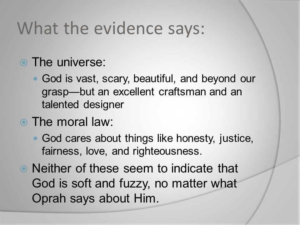 What the evidence says: