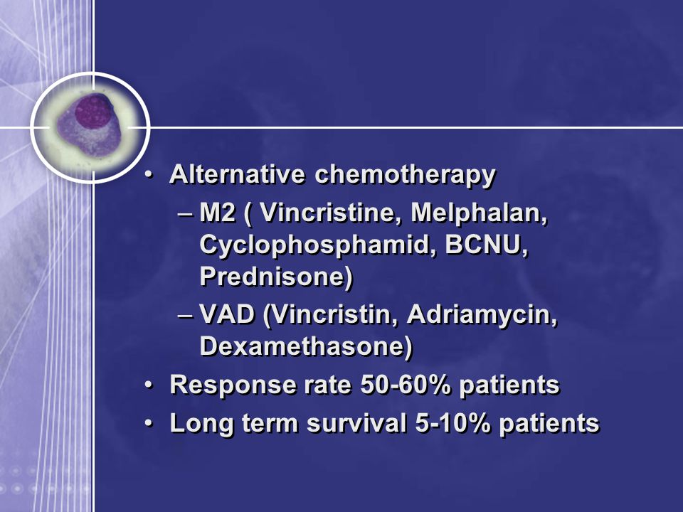 Alternative chemotherapy