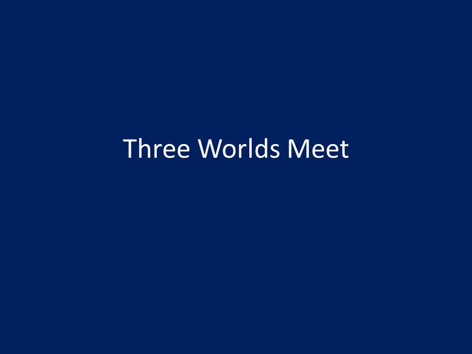 Three Worlds Meet