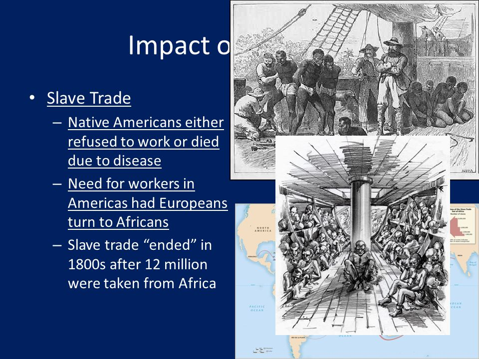 Impact on Africans Slave Trade