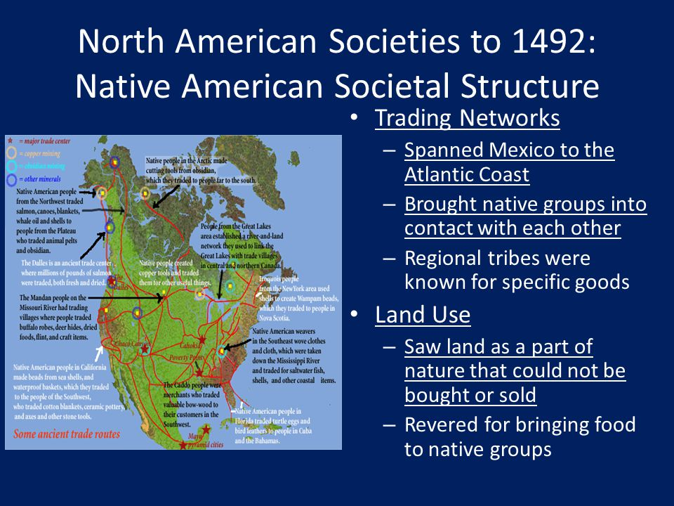 North American Societies to 1492: Native American Societal Structure