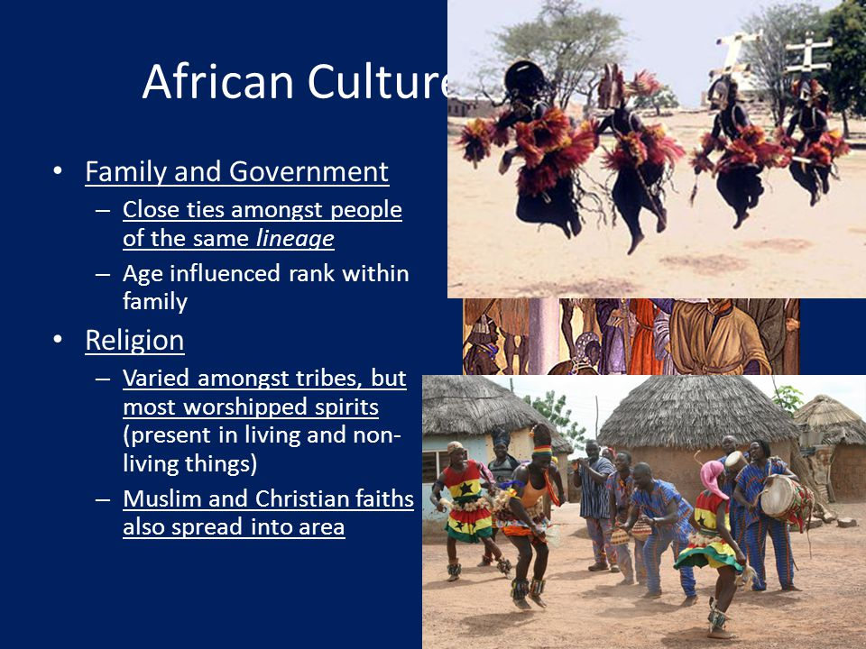 African Culture and Society