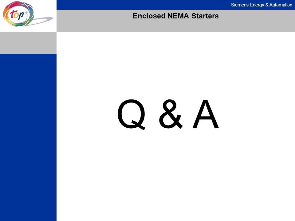 Enclosed NEMA Starters