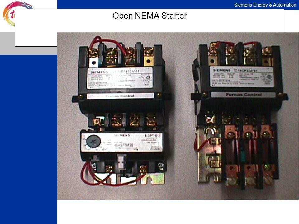 Open NEMA Starter