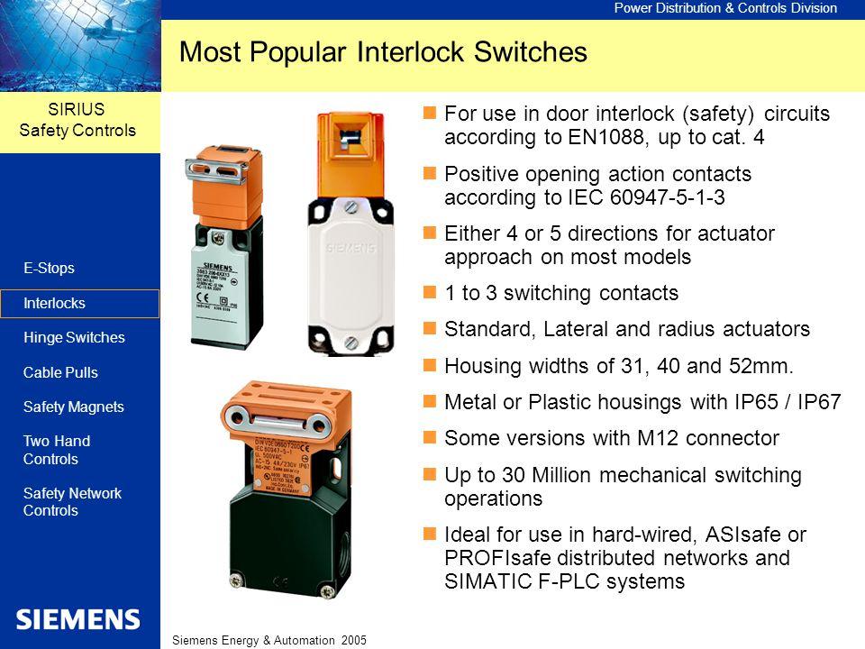 Most Popular Interlock Switches