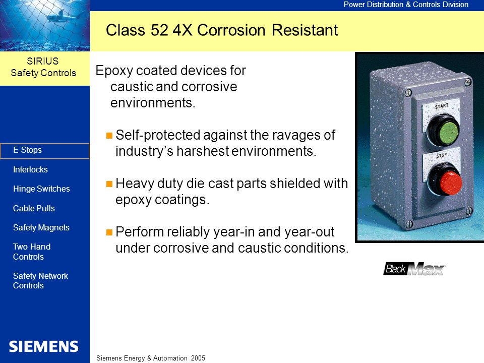Class 52 4X Corrosion Resistant