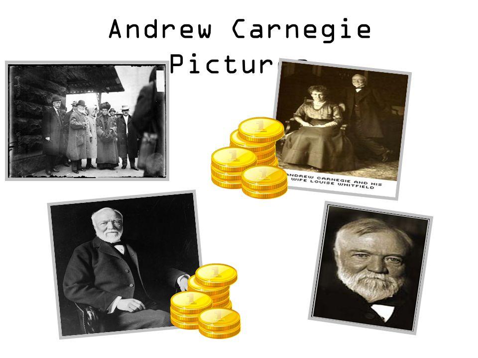 Andrew Carnegie Pictures