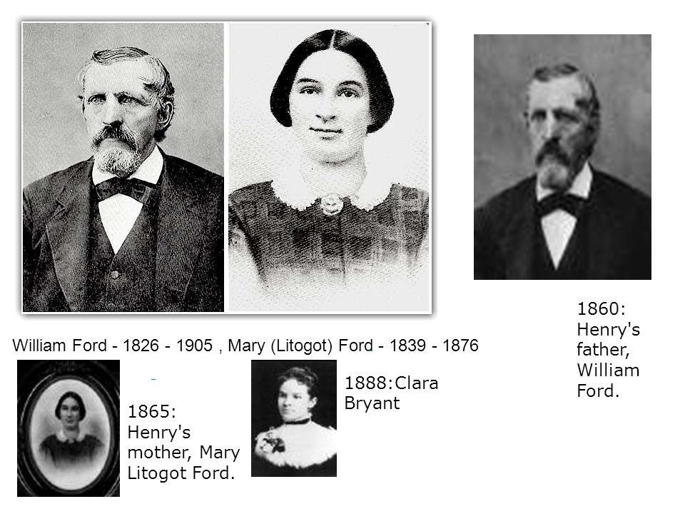 1860: Henry s father, William Ford.