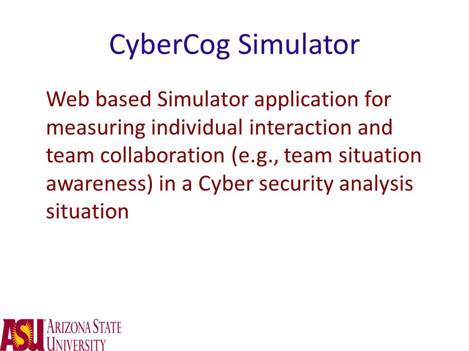 CyberCog Simulator
