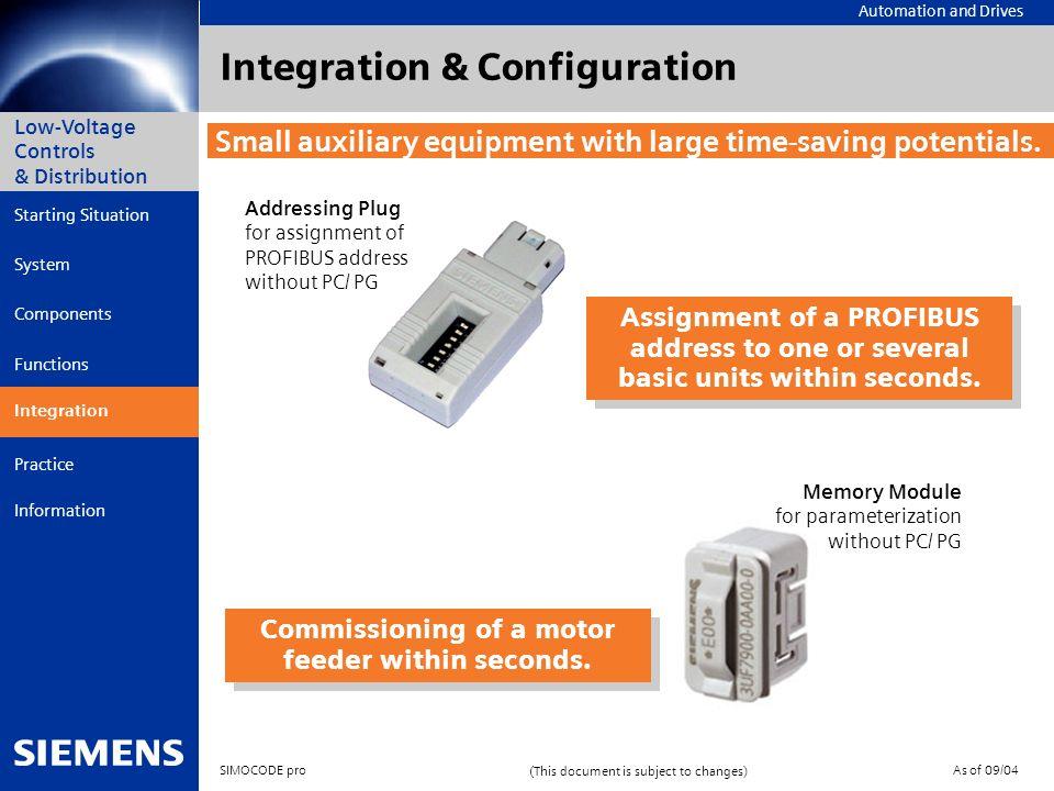 Integration & Configuration