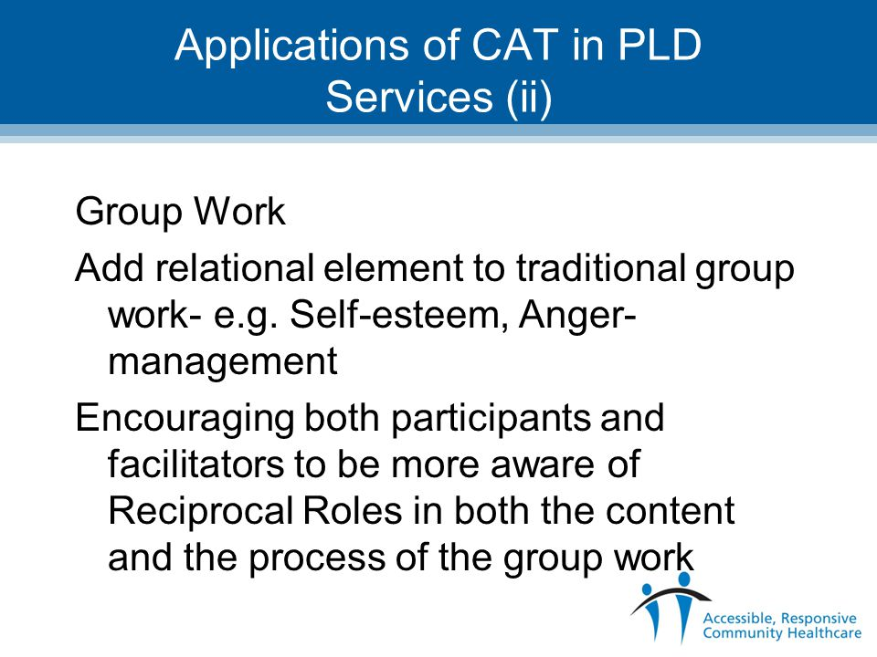 Applications of CAT in PLD Services (ii)