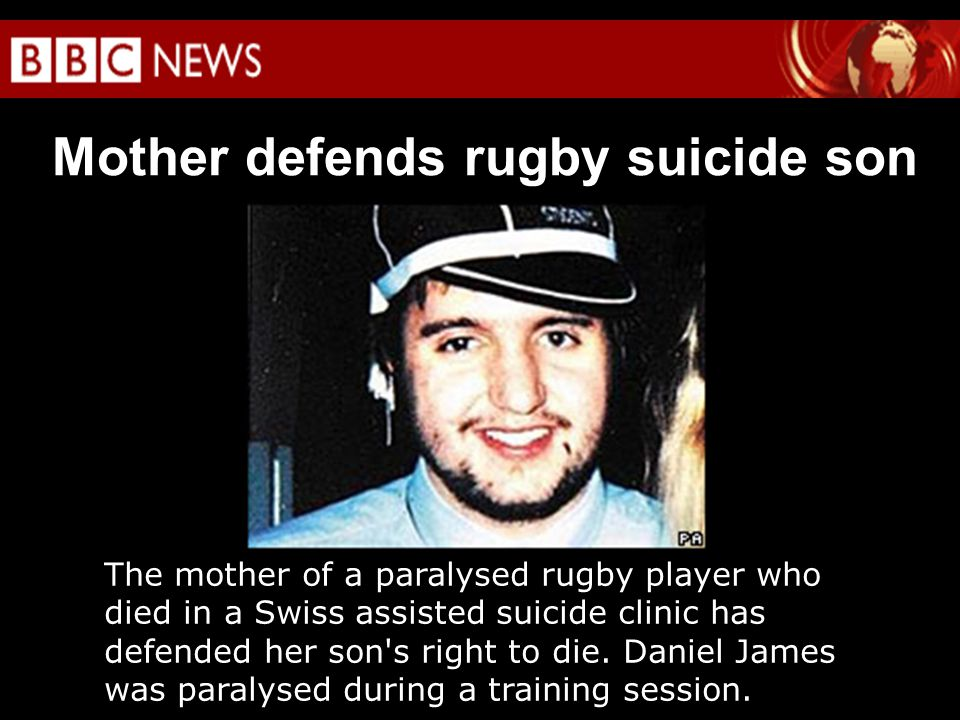 Mother defends rugby suicide son