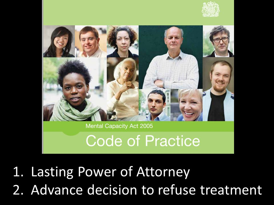 1. Lasting Power of Attorney