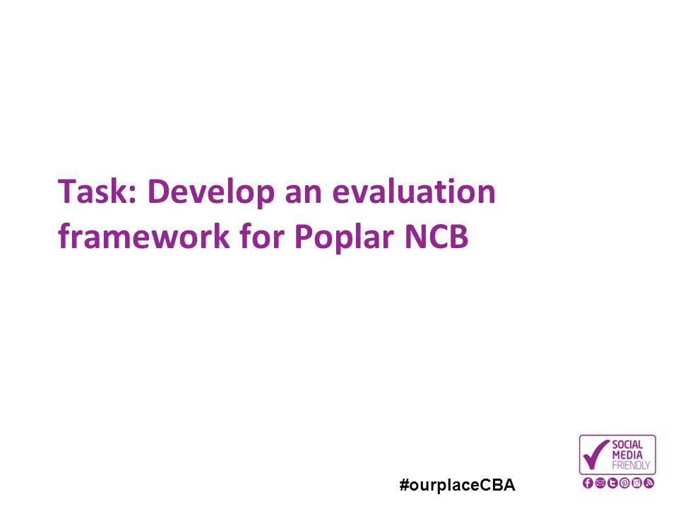 Task: Develop an evaluation framework for Poplar NCB