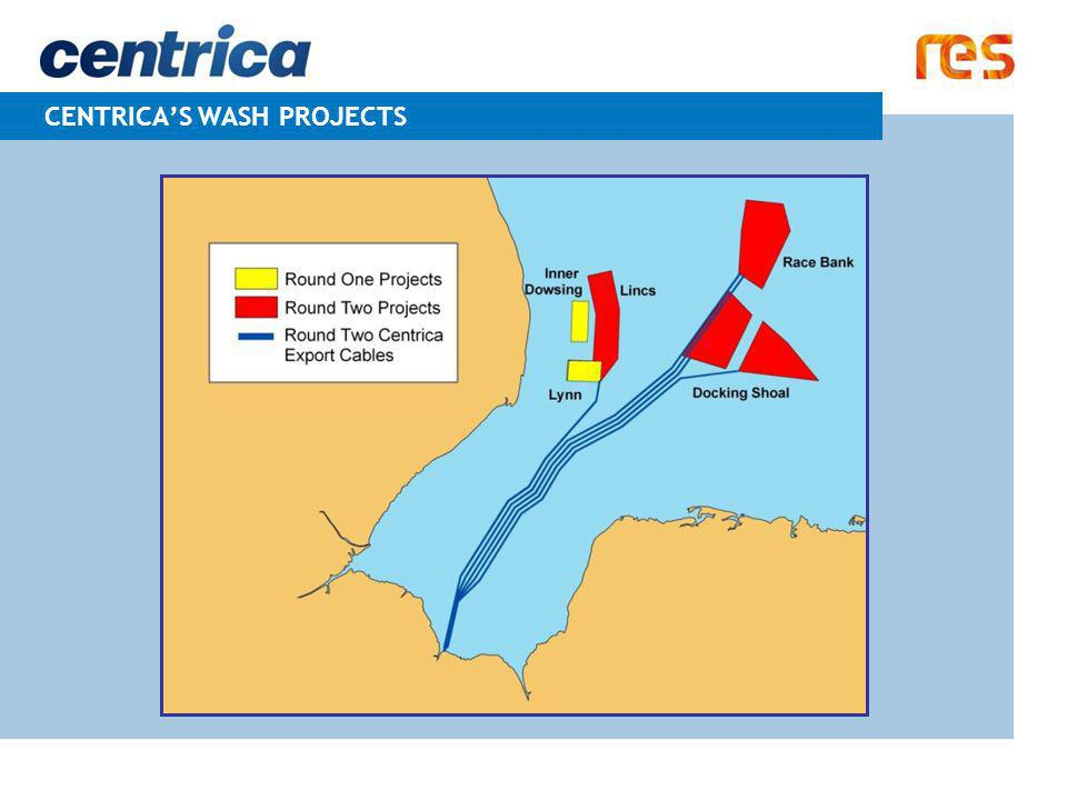 CENTRICA'S WASH PROJECTS