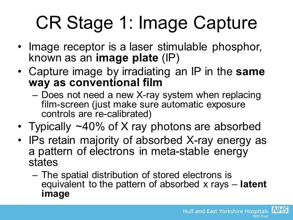 CR Stage 1: Image Capture