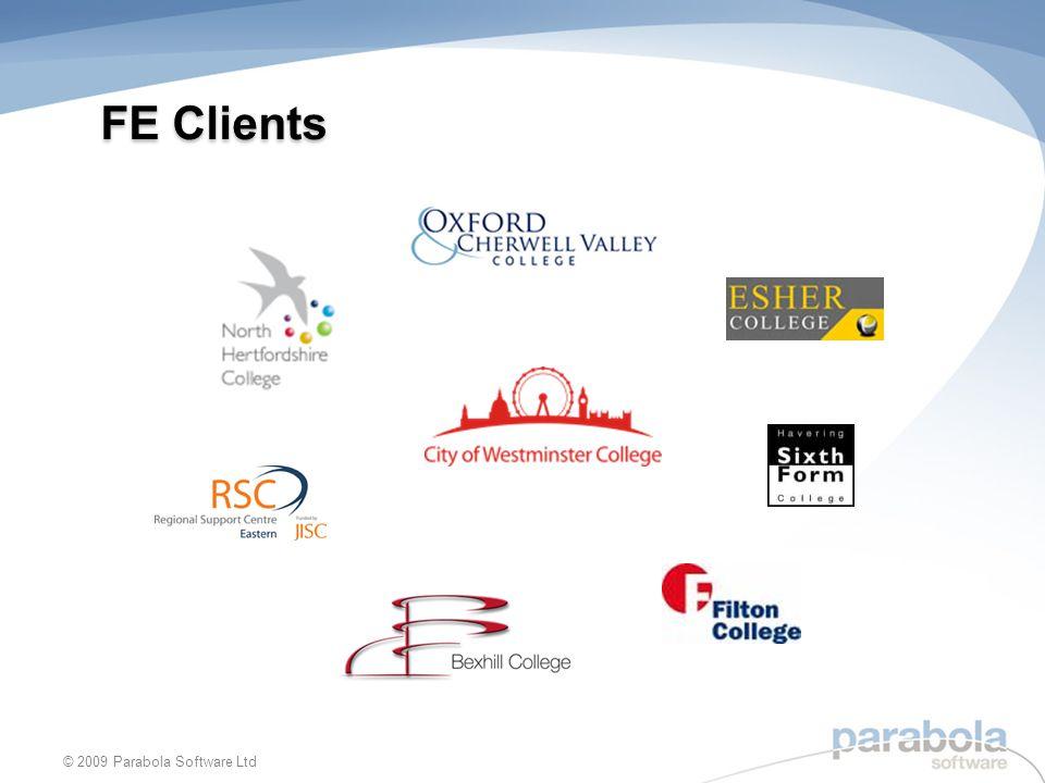 FE Clients © 2009 Parabola Software Ltd