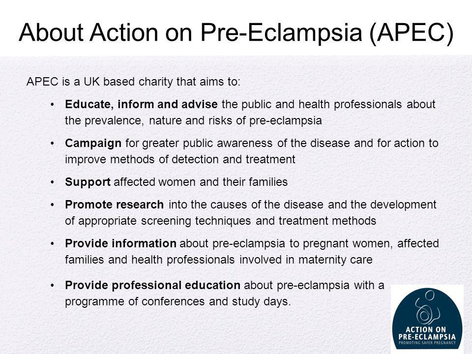 About Action on Pre-Eclampsia (APEC)