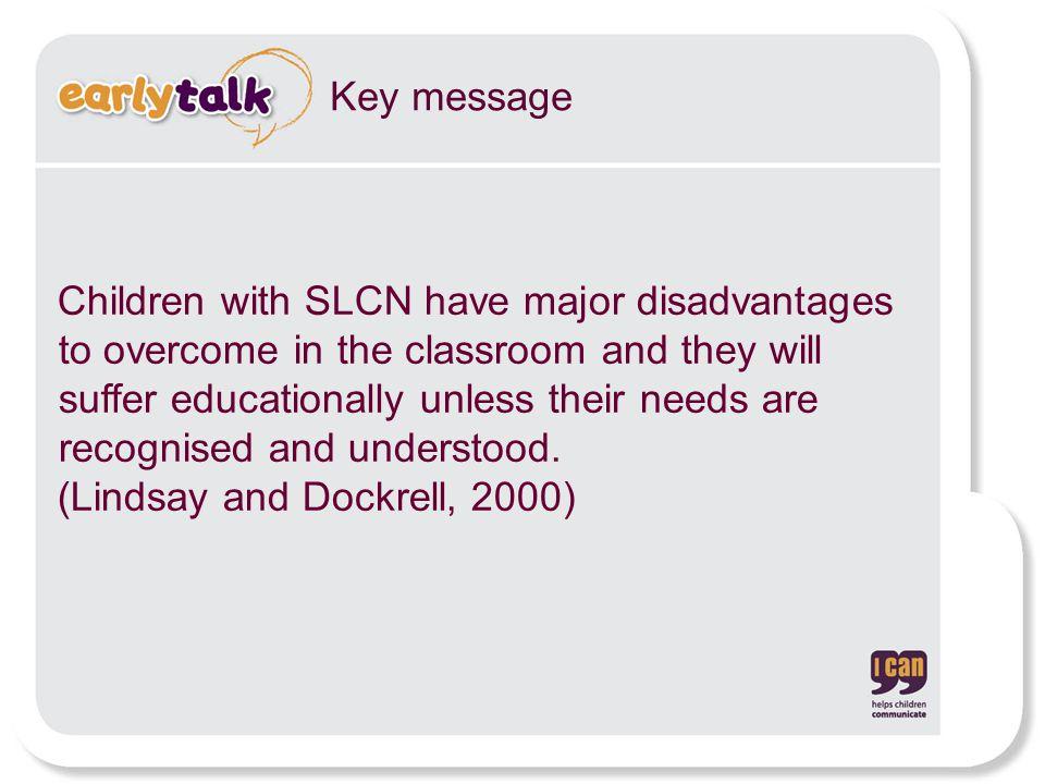 (Lindsay and Dockrell, 2000)