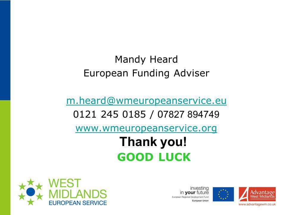European Funding Adviser